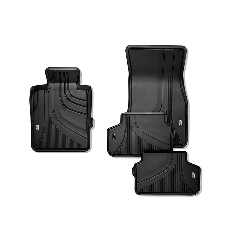 BMW宝马3D脚垫 后备箱垫 汽车全天候脚垫  适用x2x3x4x5x6x7 3系5系7系 【全天候脚垫】前后排