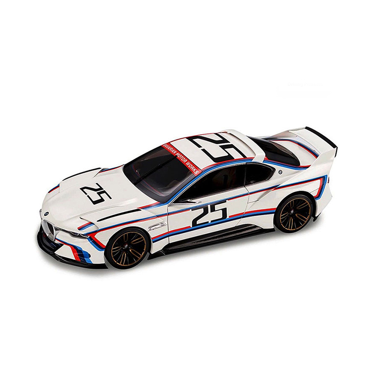 BMW 模型车 3.0 CSL R Hommage 车模 1:18 白色