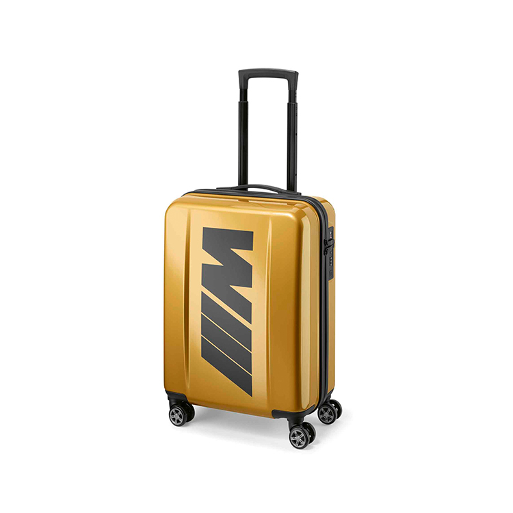 BMW 旅行箱 金色